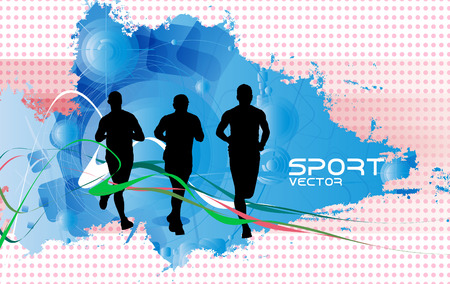 yogi: sports background