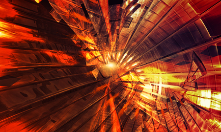 3D rendering, abstract background