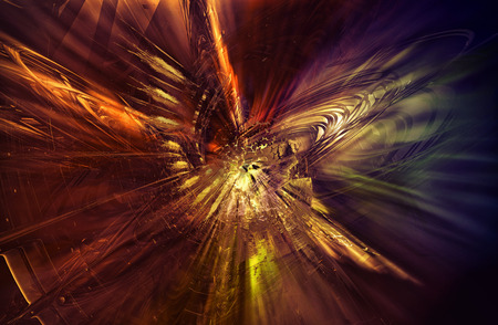 complexity: 3D rendering, abstract background