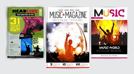 advertising column: magazine cover