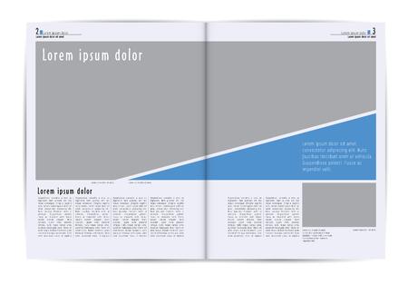 magazine layout: Magazine layout.