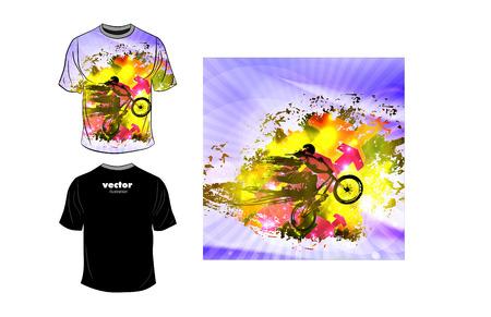 man's: Mans t-shirt design