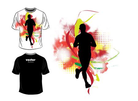 Mans t-shirt design