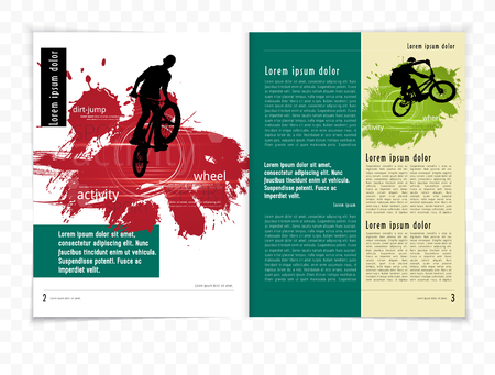 open magazine: Sport brochure layout
