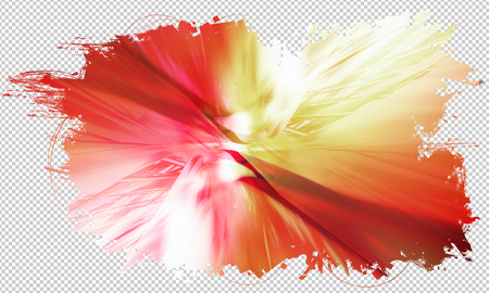 conection: 3d abstract technology background