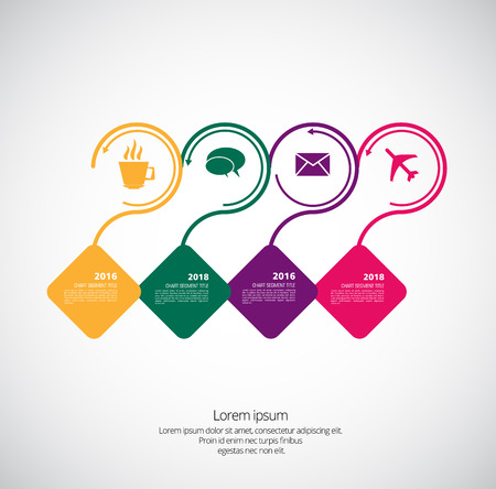Business infographic layout design.
