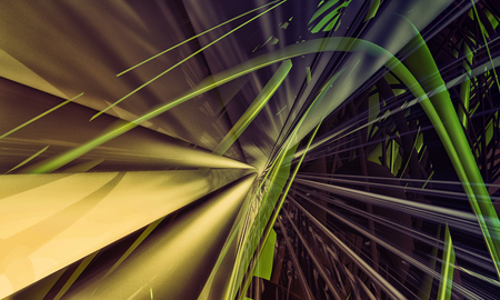 3D rendering of a futuristic background Stock Photo