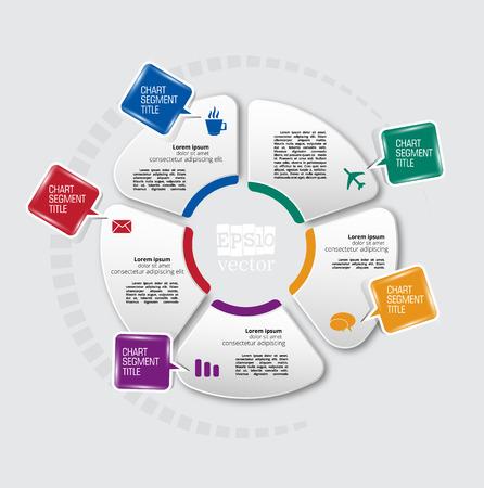 Design colorful presentation templates. Vector background.