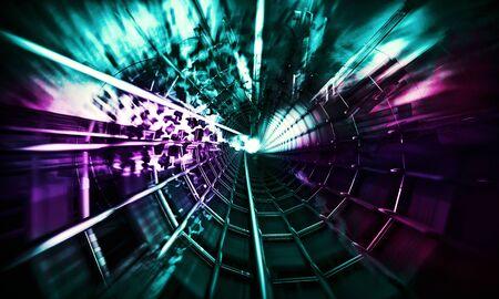 Abstract technology digital hi tech Reklamní fotografie - 128584351