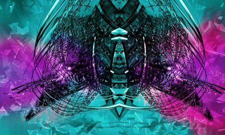 Abstract technology digital hi tech Reklamní fotografie - 128584254