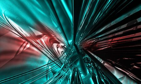 Abstract technology digital hi tech Reklamní fotografie - 128584259