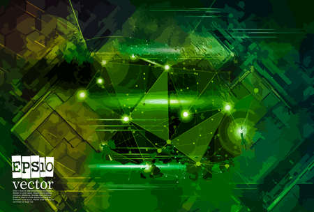 Vector of abstract technology concept background