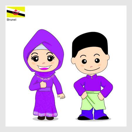 brunei: Cartoon Brunei
