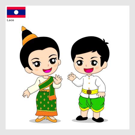 Cartoon Lao
