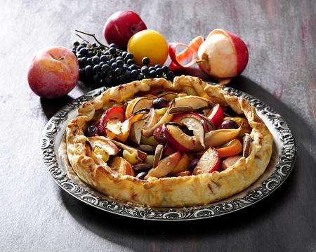 Apple pie. Stock Photo