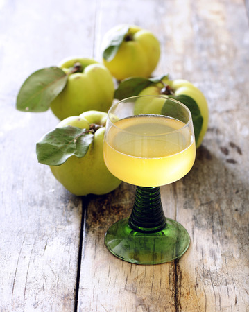 Quince drink. Banque d'images