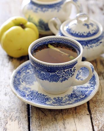 Quince tea.