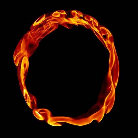 letras negras: Carta de un título del alfabeto de fuego humo aislado en negro