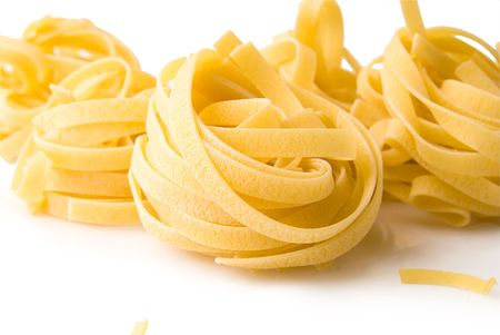 pasta isolated on a white background Stok Fotoğraf - 6659828