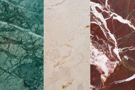 set texture of natural stone Imagens