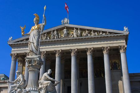 Austrian parliament photo