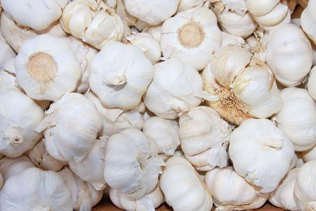 Heap of Garlic photo