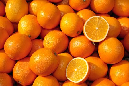 Heap of oranges in the sun Stock Photo - 6869718