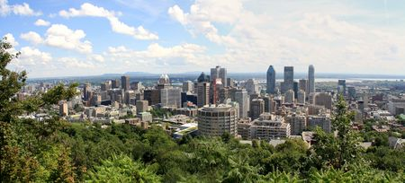 Montreal Panorama photo