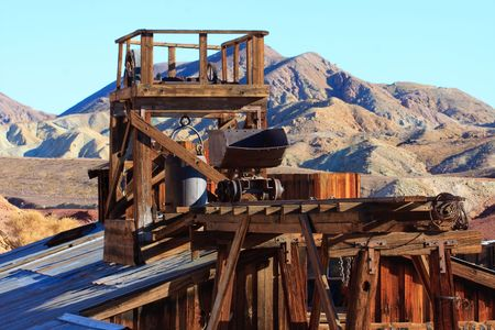 Old gold and silber mine Stock Photo
