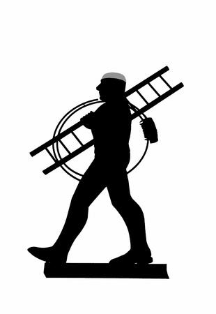 Chimney sweeper Stock Photo - 9459550