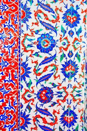 splendour: Iznik tile colorful ornamental details