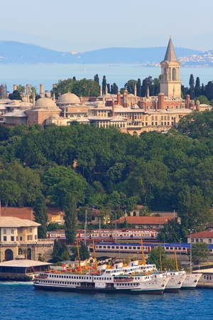 Topkapi Palace before Marmara sea, Istanbul, Turkey Stock Photo - 9455506