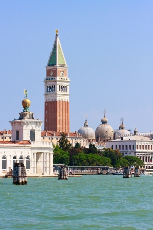 San Marco and Campanile, Venice, Italy photo