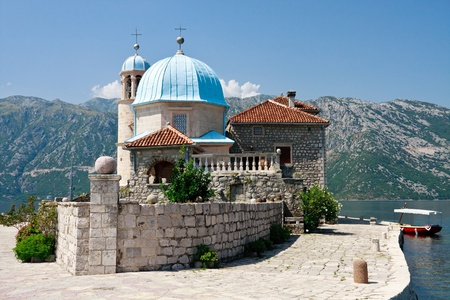 Our lady of the Rock, Perast, Kotor Bay, Montegro photo