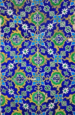 Iznik tiles colorful ornamental details Stock Photo - 9455572