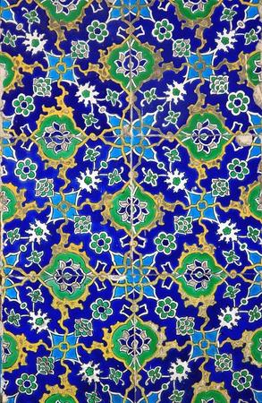 Iznik tiles colorful ornamental details Stock Photo - 9455572