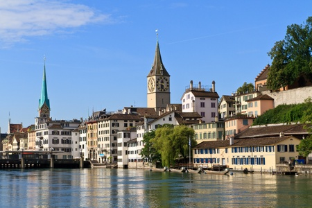 Zurich Cityscape, Switzerland photo