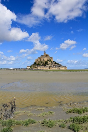 Mont Saint Michel Abbey, Normandy / Brittany, France Stock Photo - 11085337