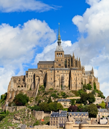 michel: Mont Saint Michel Abbey, Normandy   Brittany, France