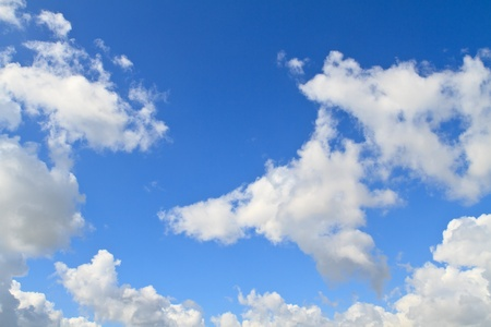Blue sky with white clouds Stock Photo - 11081784