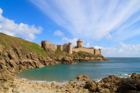 Fort La Latte, Chateau de la Roche Goyon, Brittany, France photo