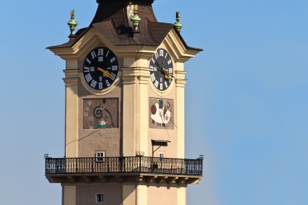 linz: Linz - Landhaus Tower   Upper Austrian Landtag