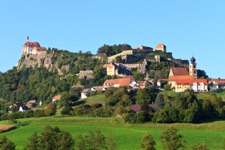 steiermark: Riegersburg fortress and town, Styria, Austria