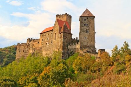 iron curtains: Hardegg Castle, National Park Thaya Valley, Lower Austria