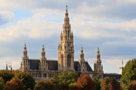neo gothic: Vienna City Hall   Town Hall  Rathaus , Austria