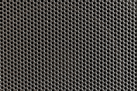 Metal grill / mesh pattern of loud speakers (detail) Stock Photo - 11393136
