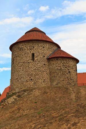 rotunda: Rotunda of Saint Catherine, Znojmo  Znaim, Czech Republic