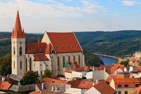 guildhall: Znojmo  Znaim, Church of St. Nicolas, Czech Republic