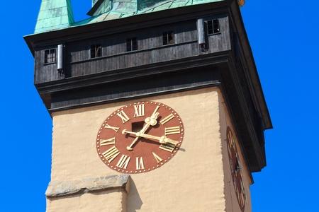 guildhall: Town hall Tower, Znojmo  Znaim, Czech Republic