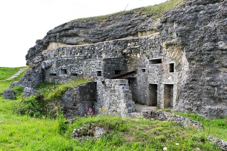 trench: Verdun, Fort Douaumont World War One Fortifications, France